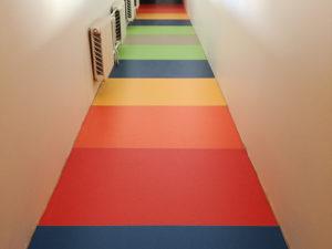 PVC põrandakatte paigaldus